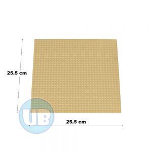 Lego Classic bouwplaat zand - 25,5 x 25,5 cm