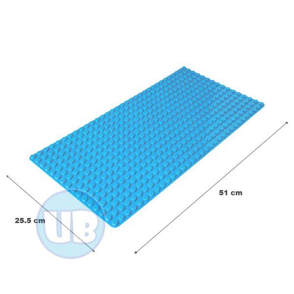 duplo uniblocks bouwplaat blauw