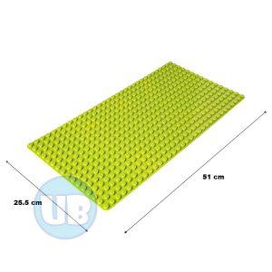 duplo uniblocks bodemplaat groen