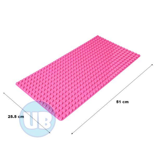 duplo uniblocks bouwplaat roze