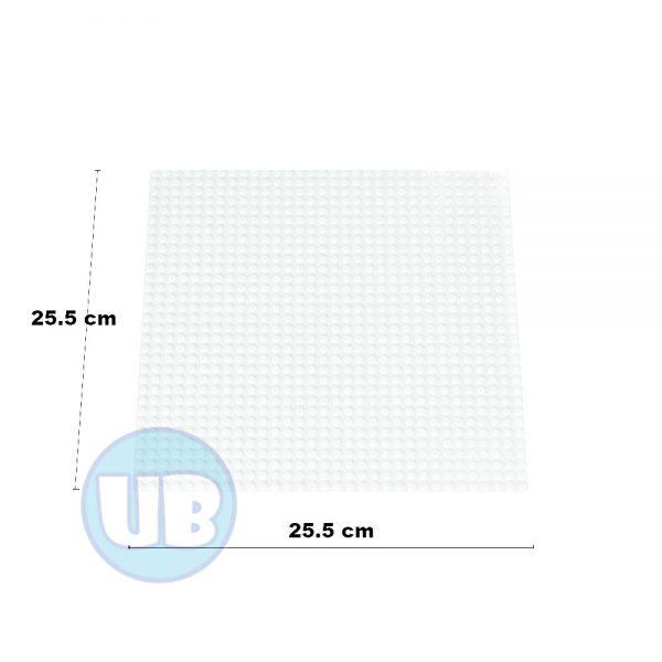 Lego Classic bouwplaat wit - 25,5 x 25,5 cm