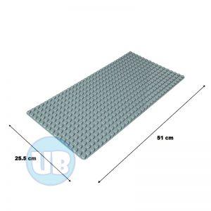 duplo uniblocks bouwplaat grijs