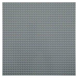 Bouwplaat donkergrijs - 32 x 32 cm-1