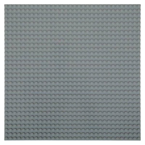 Lego bouwplaat donkergrijs -1