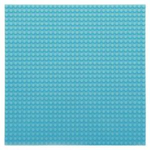 Bouwplaat hemelsblauw - 32 x 32 cm