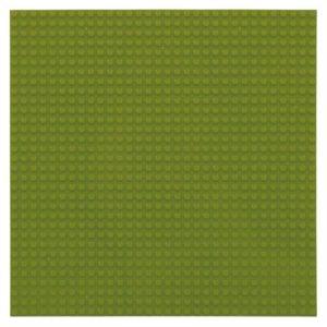 Bouwplaat junglegroen - 32 x 32 cm-1