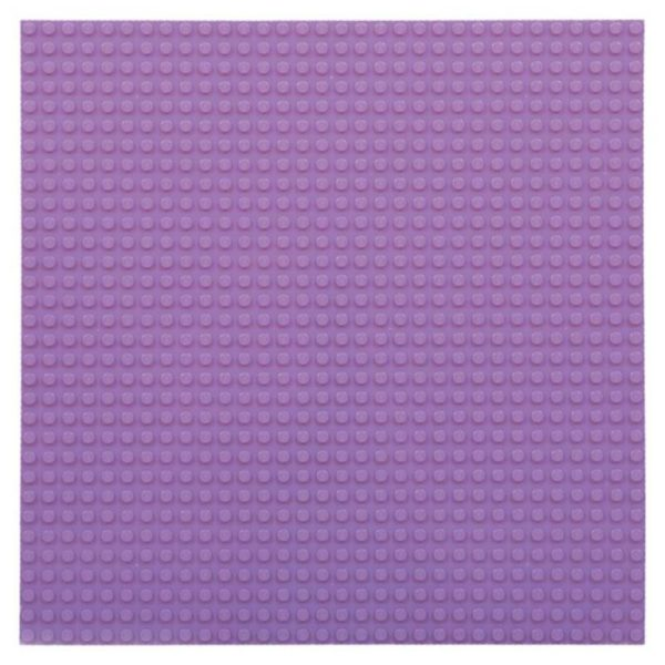 Bouwplaat lavendel - 32 x 32 cm-1
