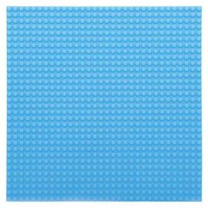 Bouwplaat lichtblauw - 32 x 32 cm-1