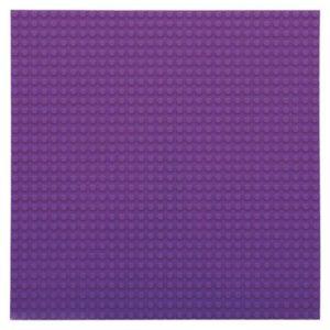 Bouwplaat paars - 32 x 32 cm-1