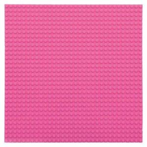 Lego bouwplaat roze -1
