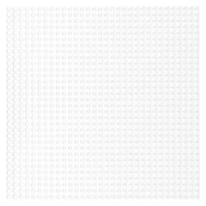 Lego bouwplaat wit -1