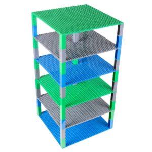 lego Brik Tower bouwplaten blauw
