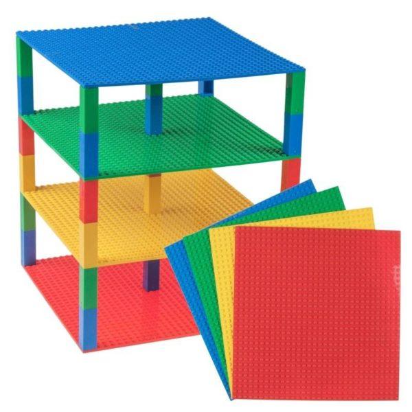 Lego briks tower blauw