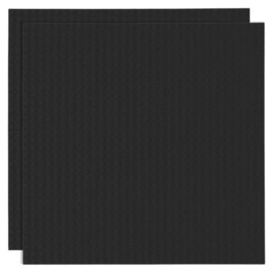 Duopak bouwplaat zwart - 32 x 32 cm