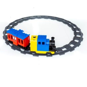 Lego duplo huimei elektrische stoom trein set