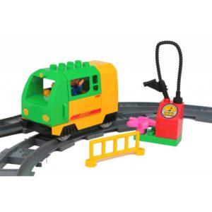 Elektrische trein kind - groen