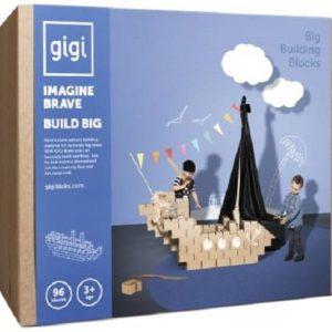 Gigi Bloks stevige blokken set G-3 - 96 stuks - XL