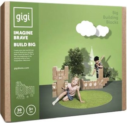 Gigi Bloks stevige blokken set G-4 - 30 stuks - XL