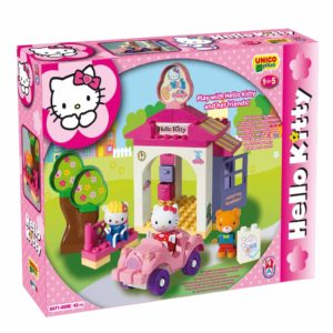 Hello Kitty auto wasstraat - 42 delig-1