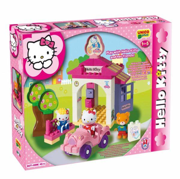 Hello Kitty auto wasstraat - 42 delig-1
