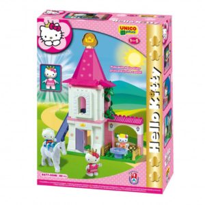 Hello Kitty kasteel - 80 delig