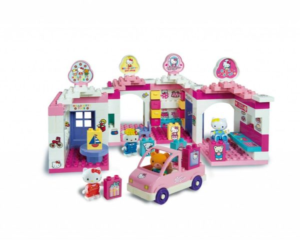 Hello Kitty huis - 140 delig