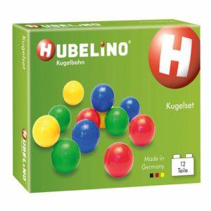 Hubelino kunststof knikkers - 12 stuks-1