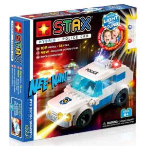 Light Stax hybrid stax flashing police car - H11101