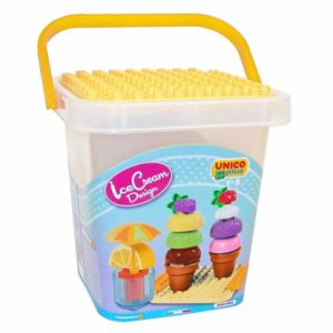 Unico Plus cup cake design ijsje - 25 delig - 8614-1