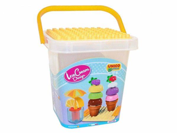Unico Plus cup cake design ijsje - 25 delig - 8614-1