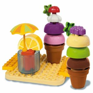 Unico Plus cup cake design ijsje - 25 delig - 8614