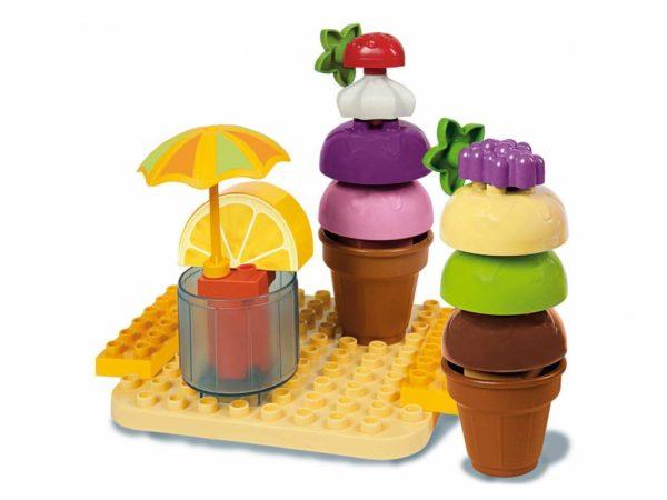 Unico Plus cup cake design ijsje - 25 delig - 8614