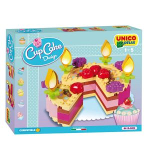 Unico Plus cup cake design taart - 56 delig - 8610-1