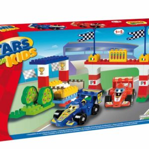 Unico Plus F1 cars race auto's - 61 delig - 8564