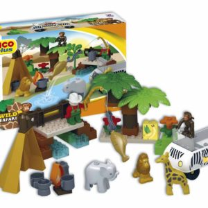 Unico Plus wild safari - 55 delig - 8560