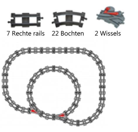 Duplo uniblocks treinrails voordeelpakket - 1