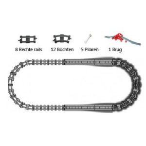 Duplo uniblocks treinrails voordeelpakket - 2