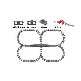 Duplo uniblocks treinrails voordeelpakket