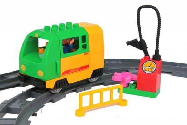Elektrische trein set - groen