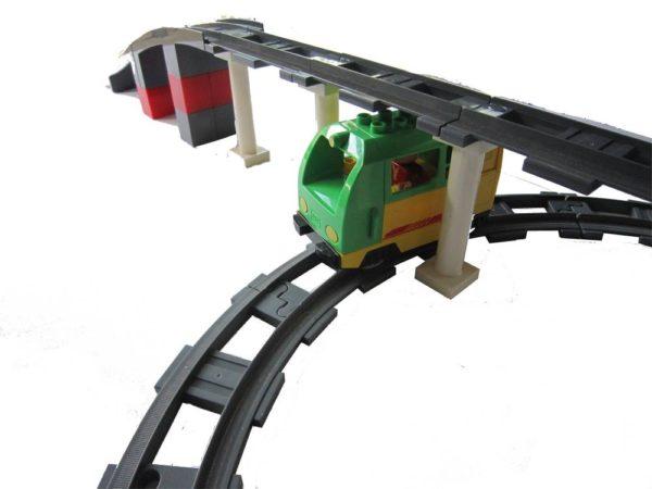 Treinspoor pilaren - 5 stuks
