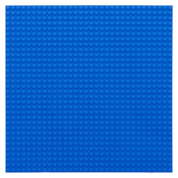 lego bouwplaat blauw - 1