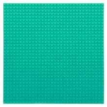 Bouwplaat lichtblauw - 32 x 32 cm