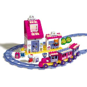 hello kitty duplo trein station-1