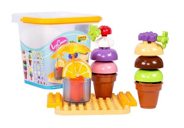 Unico Plus cup cake design ijsje - 25 delig - 8614 -3