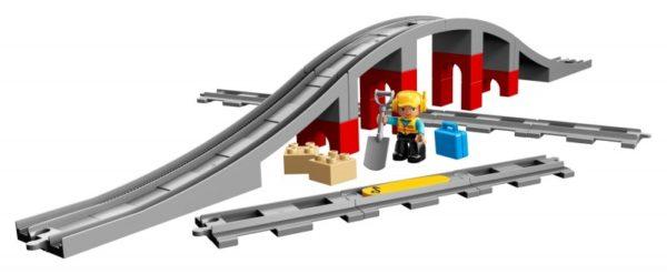 Duplo 10872 Treinbrug en -rails-1
