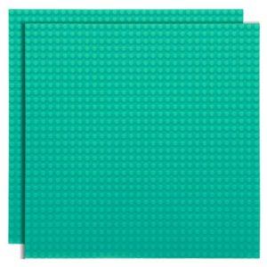 Lego bouwplaat lichtblauw