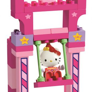 Hello Kitty Funpark schommel - 26 delig - 8690