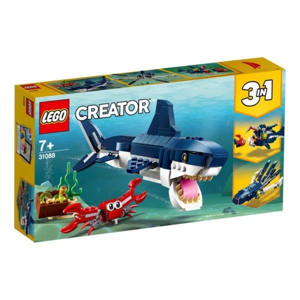 Lego Creator 31088 3-in-1 Diepzeewezens