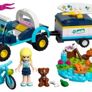 Lego Friends 41364 Stephanie's Buggy en Aanhanger - 1