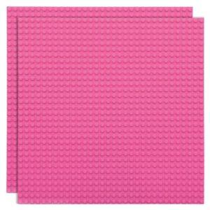 lego bouwplaat roze - 1